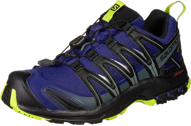 Salomon XA Pro 3D GTX Trailrunning Shoes Men mazarine blueblacklime green